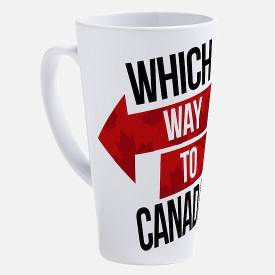 Canadian politics 17 oz Latte Mug