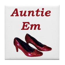 Auntie Em Tile Coaster