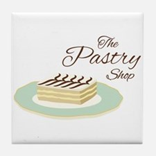 Pastry Shop Tile Coaster