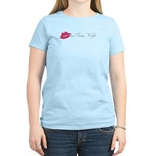 Air Force Wife with Pink Lips T-Shirt