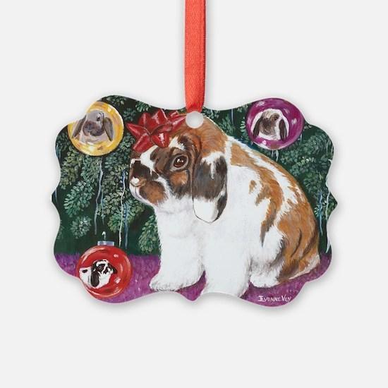 Christmas Rabbit Ornament