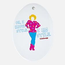 I Am Style Beverly Goldberg Oval Ornament
