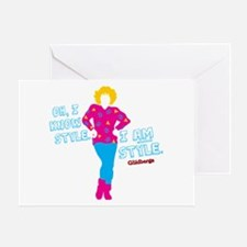 I Am Style Beverly Goldberg Greeting Cards