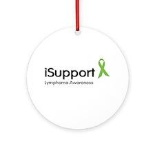 Lymphoma Awareness Ornament (Round)