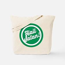 Festive Hail Satan Tote Bag