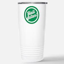 Festive Hail Satan Travel Mug