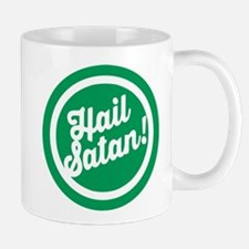 Festive Hail Satan Mugs