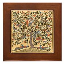 The Tree of Life Framed Tile