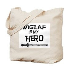 Wiglaf is my Hero Tote Bag