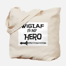 Wiglaf is my Hero Tote Bag