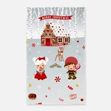 Gingerbread House Candyland Area Rug