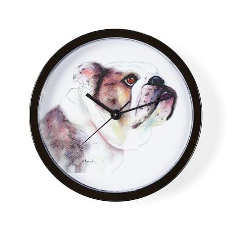 Bulldog #3 Wall Clock