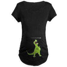Pregasaurus Rex, Funny Maternity T-Shirt