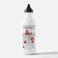 gingerbread house CandyLand Water Bottle