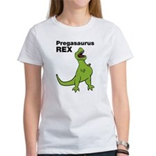 T-rex Pregnant Humor T-Shirt