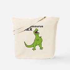 T-rex Pregnant Humor Tote Bag