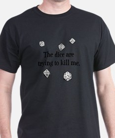 Cute Rpg dice T-Shirt