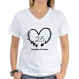 Anniversary Womens V-Neck T-shirts