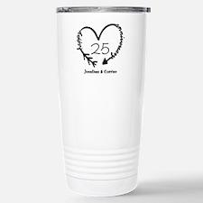 Custom Anniversary Dood Travel Mug