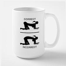 Correct Your Position, Adult Humor Mugs
