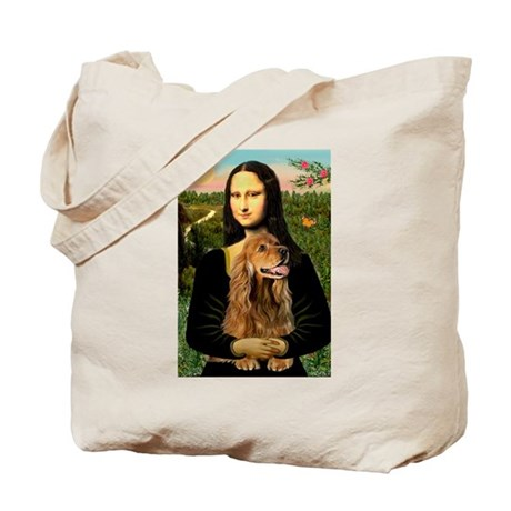 Mona's Brown Cocker (#7) Tote Bag