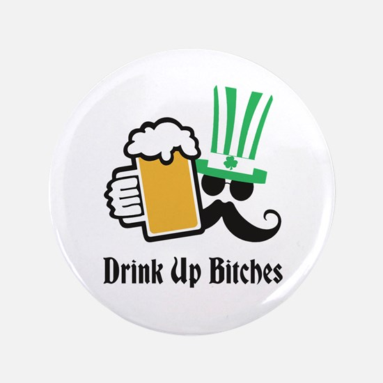 Personalize St Patricks Day Button