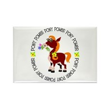 Pony Power Rectangle Magnet