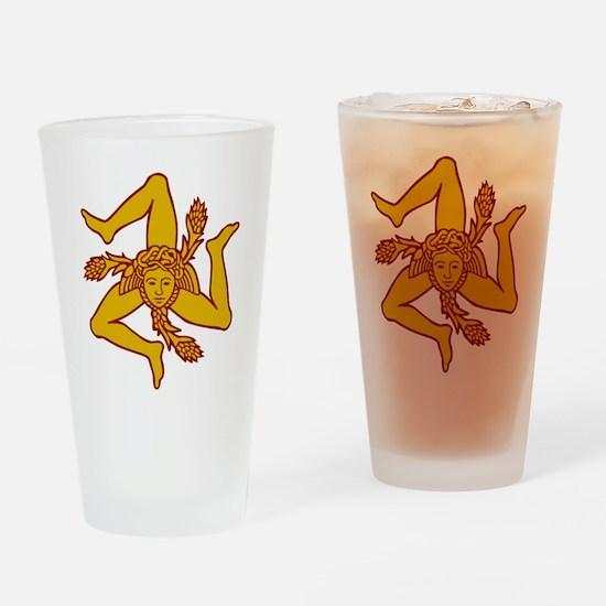 sicily Sicilia Sicile Drinking Glass
