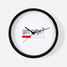 Got Rage? Wall Clock