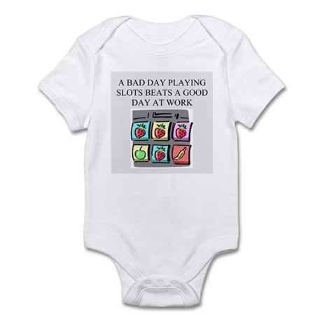 slot machine t-shirts gifts Infant Bodysuit