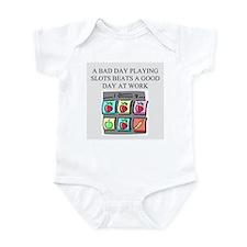 slot machine t-shirts gifts Infant Bodysuit