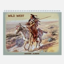 Wild West Vintage Wall Calendar