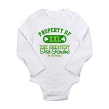 Property Of Irish Gma Long Sleeve Infant Body Suit