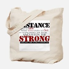 Feeds the strong: USAF Fiancee Tote Bag