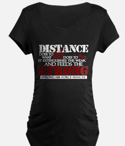 Feeds the strong: USAF Fiancee T-Shirt