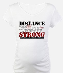 Feeds the strong: USAF Fiancee Shirt