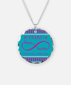 Personalized Anniversary Inf Necklace