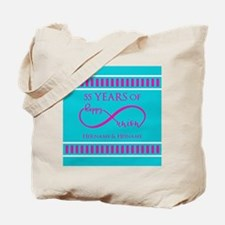 Personalized Anniversary Infinite Happy U Tote Bag