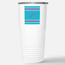 Personalized Anniversar Stainless Steel Travel Mug