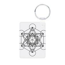 Metatron Cube Keychains