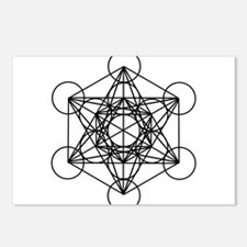 Metatron Cube Postcards (Package of 8)