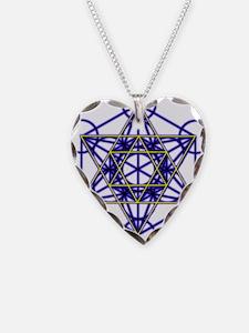 MetatronBlueStar Necklace