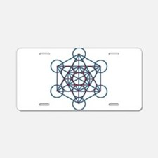 MetatronTGlow Aluminum License Plate