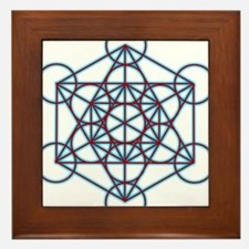 MetatronTGlow Framed Tile