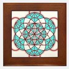 MetatronRed Framed Tile
