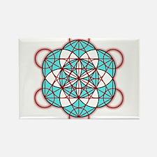 MetatronRed Rectangle Magnet