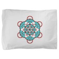 MetatronRed Pillow Sham