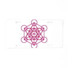 MetatronVGlow Aluminum License Plate