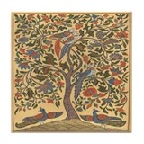 Tree life tile coaster Drink Coasters