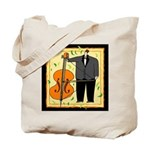Classic Bass Player Tote Bag